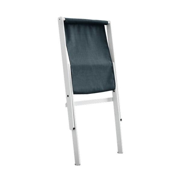 Boogie White/Petrol Blue kék összecsukható bükkfa fotel - Karup Design