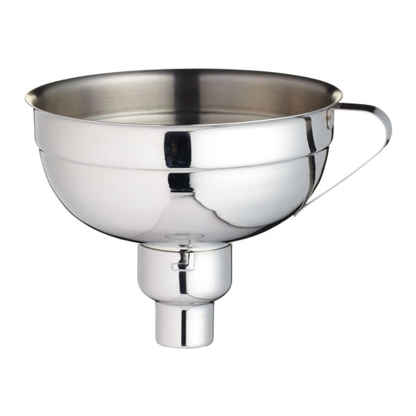 Funnel rozsdamentes acél befőző tölcsér, ⌀ 14 cm - Kitchen Craft