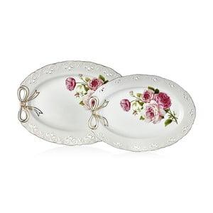 Balada porcelán tálalótál készlet, 2 részes
