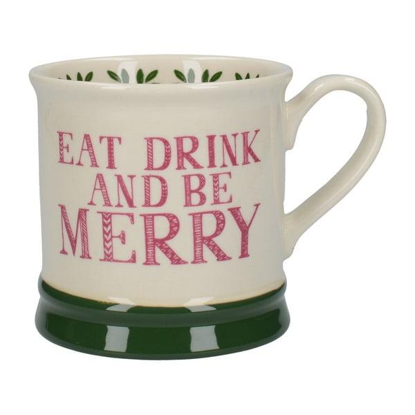 Stir It Up Eat Drink Merry kerámia bögre, 280 ml - Creative Tops
