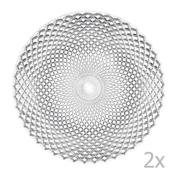 Dancing Stars - Rumba 2 db nagyméretű kristálytányér, ⌀ 32 cm - Nachtmann