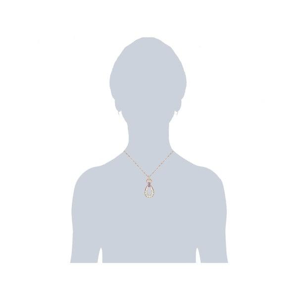 Olivine nyaklánc Swarovski kristályokkal - Saint Francis Crystals