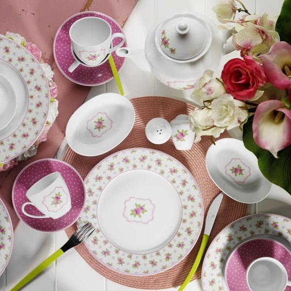 Pinky Inna 33 darabos porcelán étkészlet
