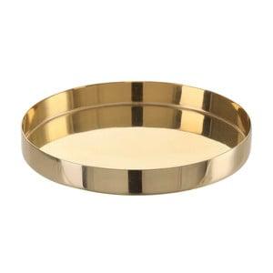 Vilma aranyszínű rozsdamentes acél tálca, ⌀10,5cm - ASimple Mess