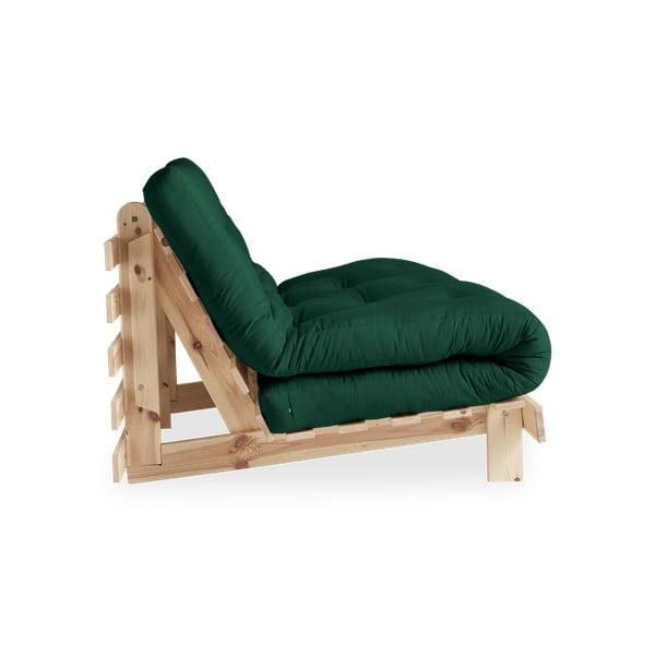 Roots Raw/Forest Green variálható kanapé - Karup Design