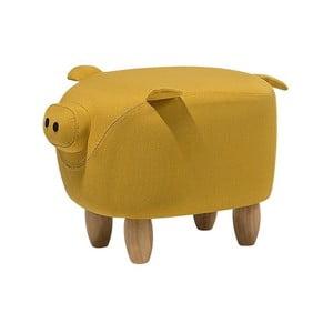 Pig sárga lábtartó, 32 x 50 cm - Monobeli