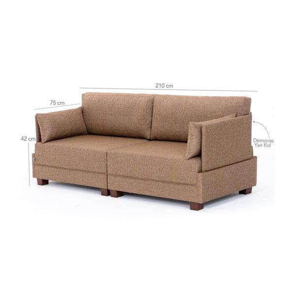 Home Lucy barna kanapé - Balcab