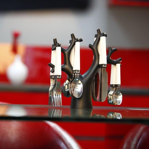24 darabos evőeszköz készlet állvánnyal - Vialli Design