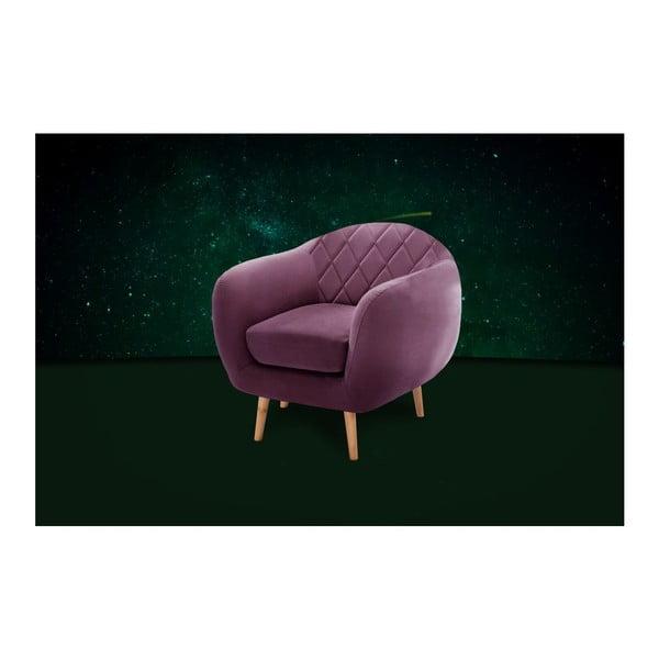 Diva Criss lila fotel - Scandi by Stella Cadente Maison