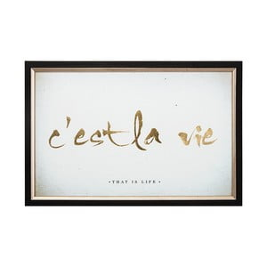 La Vie keretezett kép, 60 x 40 cm - Graham & Brown