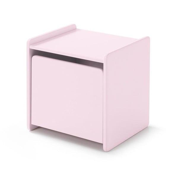 Kiddy rózsaszín éjjeliszekrény - Vipack