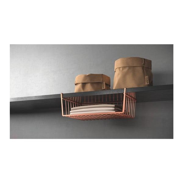 Rézszínű függő tároló - Metaltex