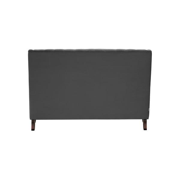 Flanelle sötétszürke kétszemélyes kanapé - Rodier Intérieurs