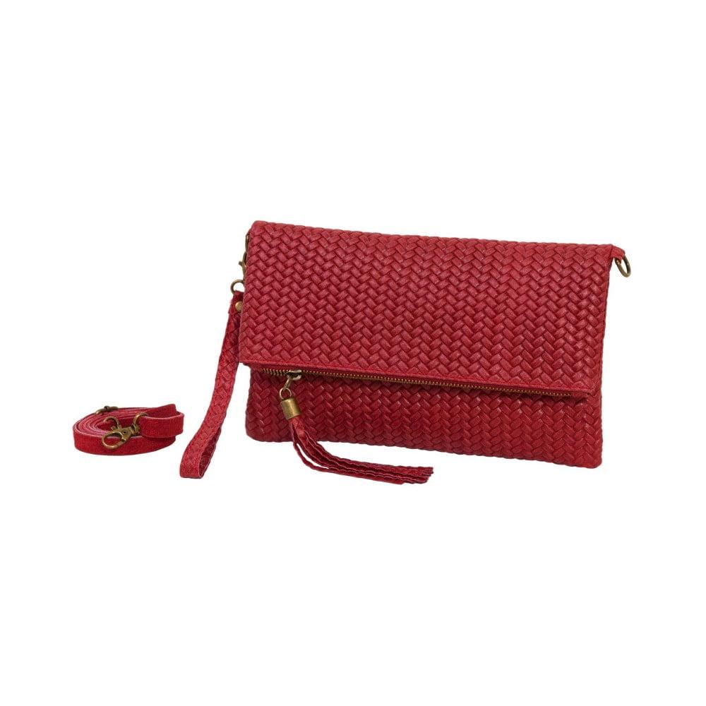 Nice Ricca piros borítéktáska   kézitáska valódi bőrből - Andrea Cardone 6bf5340e85