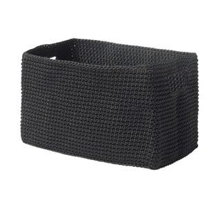 Confetti fekete kosár, 14 x 22 cm - Zone