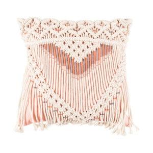 Saar rózsaszín gyapjú díszpárna, 40 x 40 cm - Zuiver