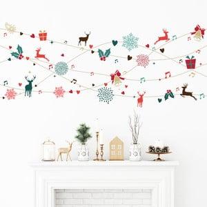 Tinsel Design karácsonyi falmatrica - Ambiance