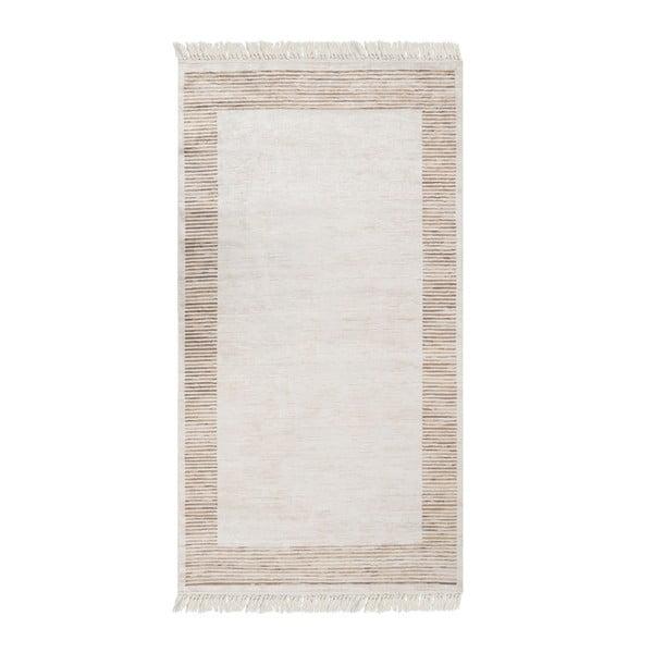 Deri Dijital Rosuna Brown bársonyszőnyeg, 80 x 150 cm