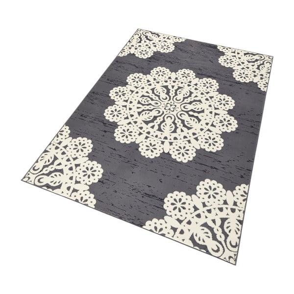 Gloria Lace szürke szőnyeg, 80 x 150 cm - Hanse Home