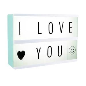 Világító üzenetes doboz - Le Studio