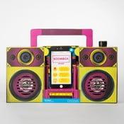 Boombox rádió alakú hangszóró - Just Mustard