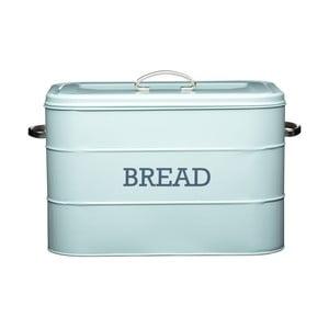 Nostalgia kék fém kenyértartó - Kitchen Craft