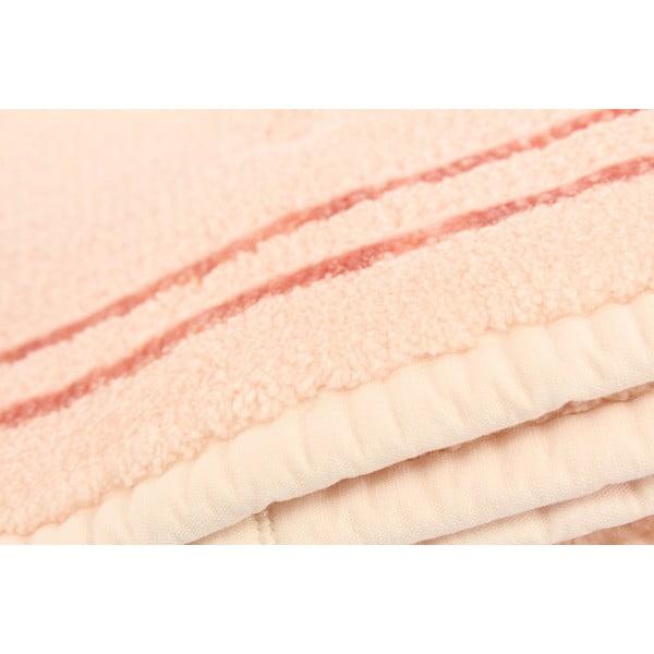U.S. Polo Assn. Helena rózsaszín fürdőszobai szőnyeg, 60 x 100 cm