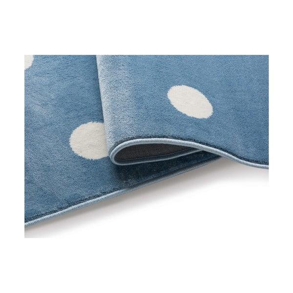 Azure Dots kék, pöttyös szőnyeg, 300 x 400 cm - KICOTI
