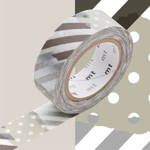Corine washi dekortapasz, hosszúság 10 m - MT Masking Tape