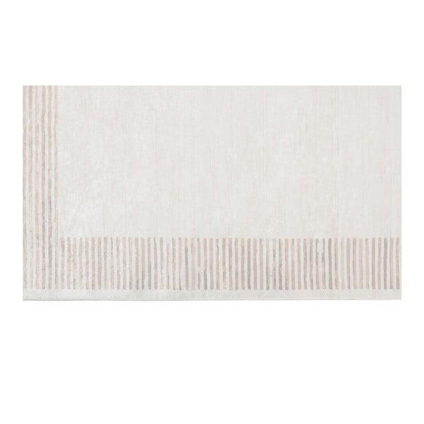 Deri Dijital Rosuna Light Brown bársonyszőnyeg, 80 x 150 cm