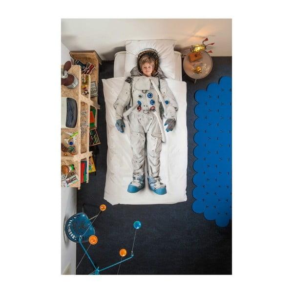 Űrhajós egyszemélyes pamut ágyneműhuzat, 140 x 200 cm - Snurk