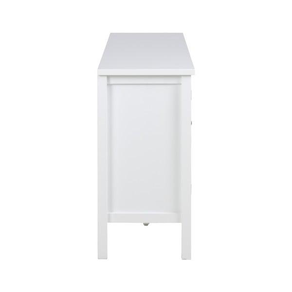 Eton fehér 2 ajtós komód 3 fiókkal - Actona