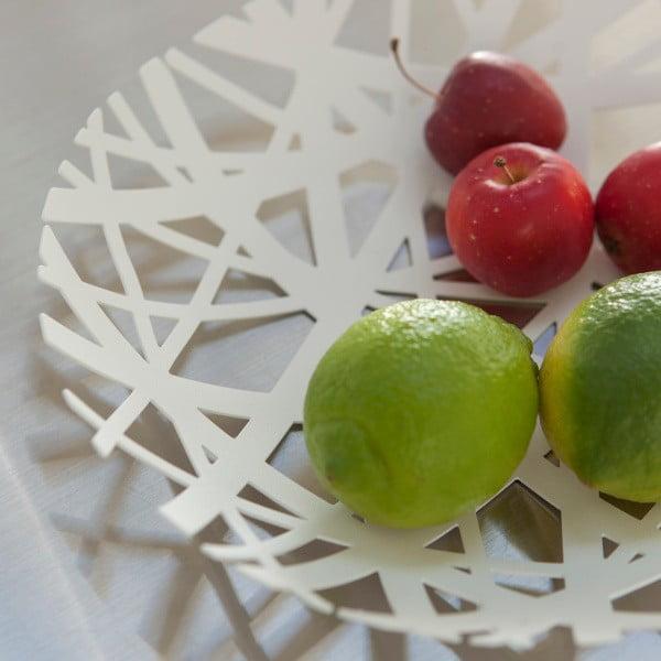Tower fehér gyümölcsöstál, ø 26 cm - YAMAZAKI
