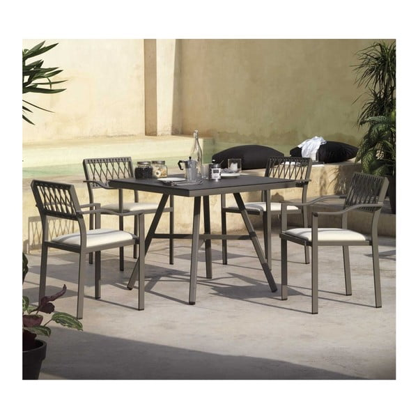 Nium szürke kerti székkészlet, 2 részes - Geese