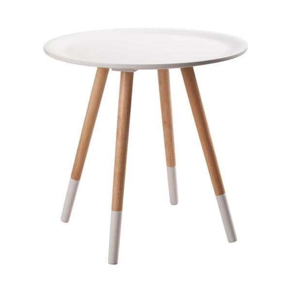Two Tone fehér tárolóasztal - Zuiver