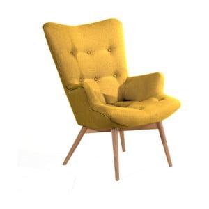 Aiko sárga fotel - Max Winzer
