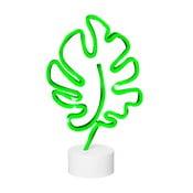 Tropical Leaf Neon neon asztali lámpa - Le Studio