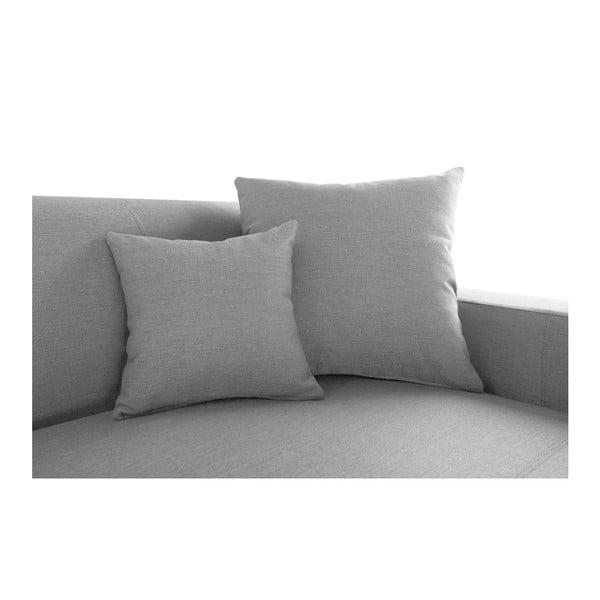 Perle világos szürke kanapé, jobb oldal - Interieur De Famille Paris