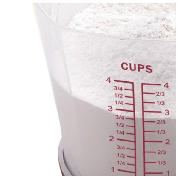 Purple Cup digitális mérleg és mérőcsésze - JOCCA