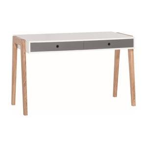 Concept fehér-szürke íróasztal - Vox