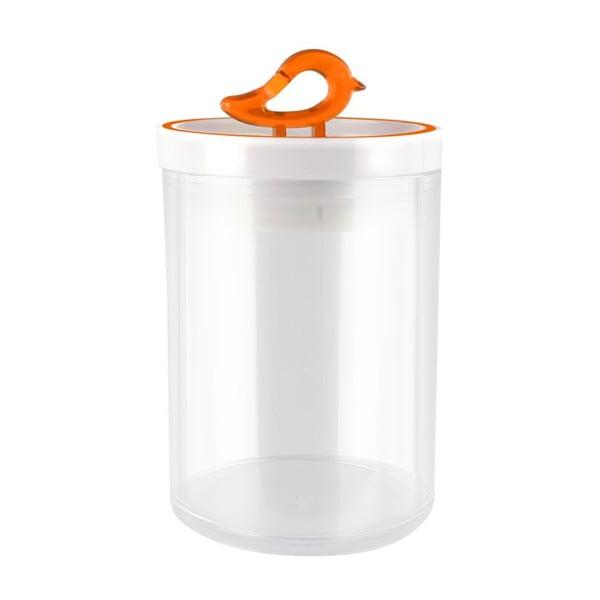 Livio narancssárga konyhai tároló doboz, 800 ml - Vialli Design