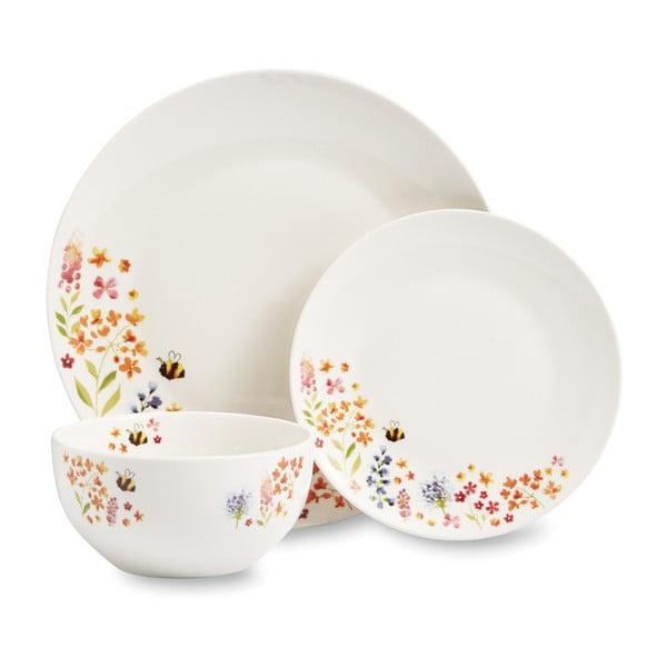Bee Happy 12 db-os porcelán étkészlet - Cooksmart ®