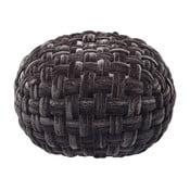 Olivio fekete puff - Kare Design