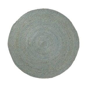Dip kék jutaszőnyeg, ⌀ 100 cm - La Forma