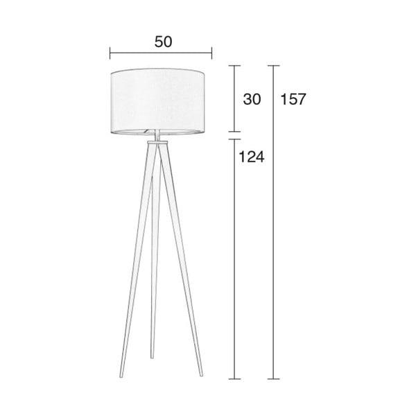 Tripod fehér állólámpa - Zuiver