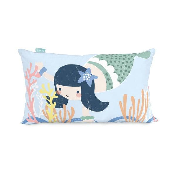 Seamaid kétoldalas pamut párnahuzat, 50 x 30 cm - Moshi Moshi