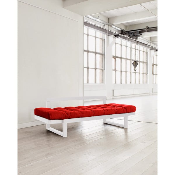Edge White/Red kanapé - Karup
