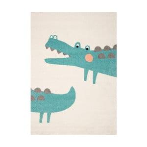 Gyerek szőnyeg krokodil motívummal, 170 x 120 cm - Hanse Home