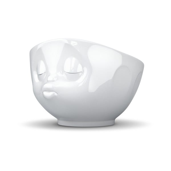 Fehér 'csókos' porcelán tálka - 58products