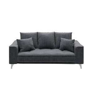 Chloe Glam sötétszürke kétszemélyes kanapé - devichy